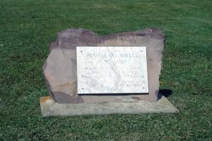 02.Wesselényi Miklós emlékkő Balatonfüreden.1795-1850