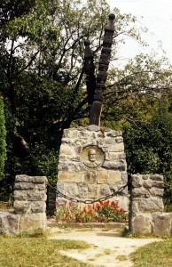 Szelykefürdő.Orbán Balázs sírja 1830-1890.
