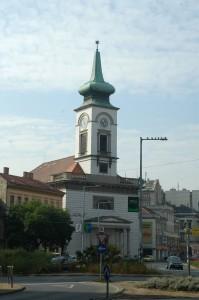 Budapest,Kálvin tér. református templom.Wesselényi első nyughelye 1850-1851.