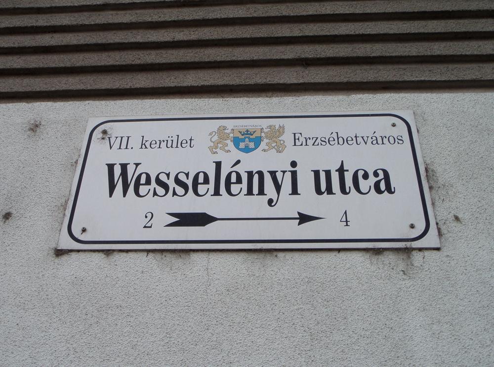 Báró Wesselényi Miklós, iskolánk névadója