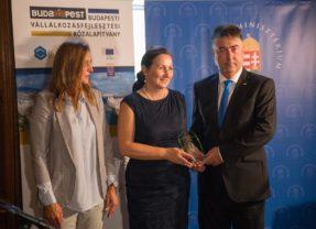 Az Év Széchenyi Vállalkozása 2018 különdíját a Báró Wesselényi Alapítványi Iskola kapta