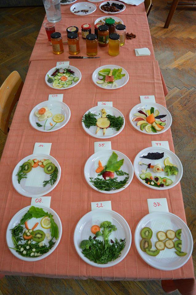 Gyümölcskompozíciók versenye