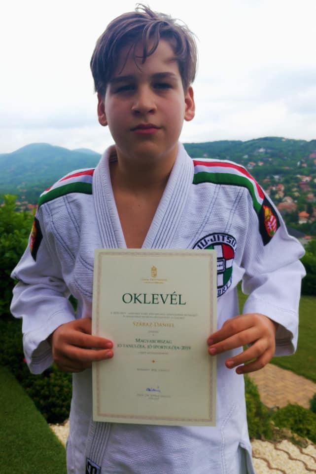 Száraz Dani Magyarország jó tanulója és jó sportolója