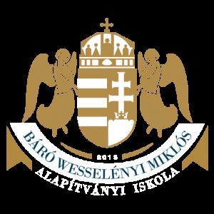 Báró Wesselényi Miklós Alapítványi iskola címere